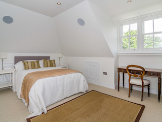 Oakhill Road, Putney Concept Eight Architects Modern style bedroom