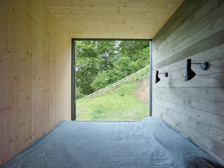 Backraum Architektur Modern style bedroom