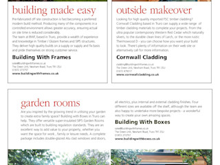Publications / Press Releases Building With Frames Modern Houses Wood