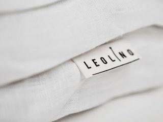 Leolino СпальняТекстиль Льон / льон Білий