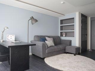 마르멜로디자인컴퍼니 Modern living room Grey