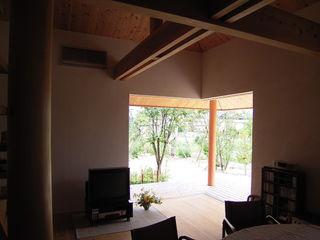 計画工房 辿 Living room Solid Wood
