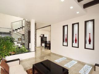 Sanskriti Architects Living room