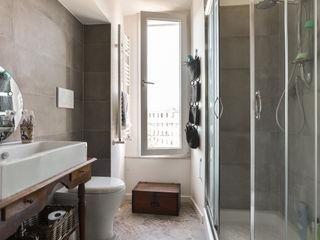 02A Studio Classic style bathroom Ceramic Beige