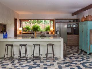 Vida de Vila Modern Kitchen Ceramic Multicolored