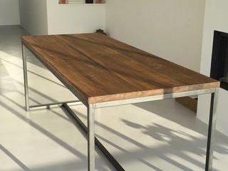 Houthandel van Steen | Man-made furniture Industrial style living room Solid Wood Wood effect