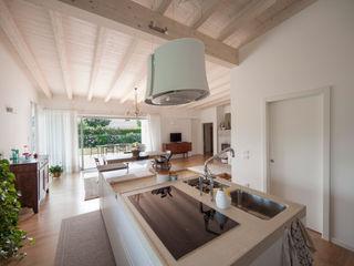 homify Modern kitchen Wood White