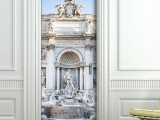 Crearreda 窗戶與門門 塑木複合材料 White