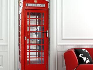 Crearreda 窗戶與門門 塑木複合材料 Red