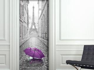 Crearreda 窗戶與門門 塑木複合材料 Purple/Violet