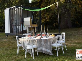 Un CUBE cuisine.. Un CUBE dans mon jardin Salle à mangerAccessoires & décorations Métal Multicolore