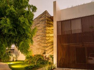 FGO Arquitectura Modern Evler Ahşap rengi