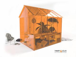 The invisible small greenhouse Nantes Frédéric TABARY Оранжерея Пластик Прозорий