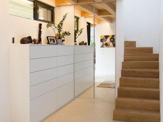 Haus Bo Anthrazitarchitekten Moderner Flur, Diele & Treppenhaus