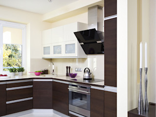 ARTEMA PRACOWANIA ARCHITEKTURY WNĘTRZ Cocinas de estilo moderno