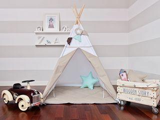 Tipi qui s'intègre parfaitement dans tous les intérieurs en y introduisant un charme unique. Handmade of Passion Chambre d'enfantsJouets