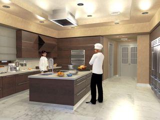 Cantina per vini - Wine cellar Planet G Cucina in stile classico