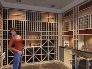 Cantina per vini - Wine cellar Planet G Cantina classica