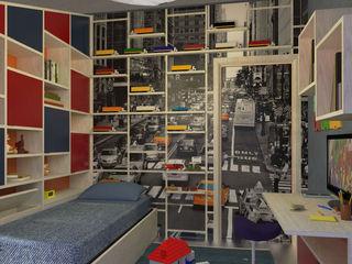 Camera per bimbo - Boy's bedroom Planet G Camera da letto moderna