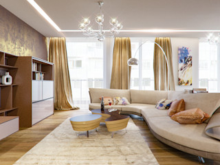 Insight Vision GmbH Salas de estilo moderno