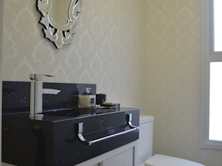 Ésse Arquitetura e Interiores Phòng tắm phong cách chiết trung