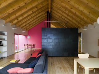 daniel rojas berzosa. arquitecto Salas de estar minimalistas