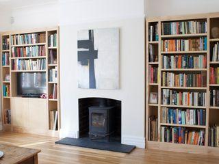 Living Room Shelves buss ГостинаяПолки