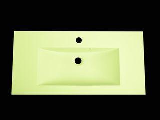 Nowa Droga W Standardach BañosLavabos Compuestos de madera y plástico Amarillo