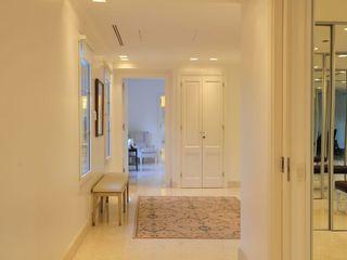Casa Tortugas JUNOR ARQUITECTOS Pasillos, vestíbulos y escaleras modernos