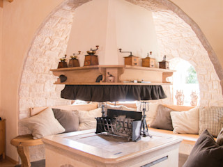 RI-NOVO Living roomFireplaces & accessories Wood