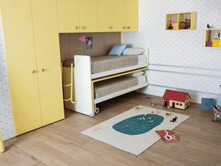 NIDI MOOVING: idee salvaspazio room #3 Nidi Camera da lettoLetti e testate Giallo