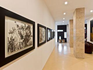 Oriental Chic Viterbo Interior design Corredores, halls e escadas ecléticos