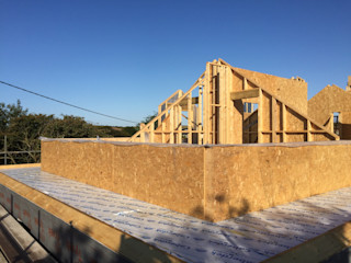 Porthleven Timber Frame Project Summer 2015 Building With Frames Modern Houses Wood