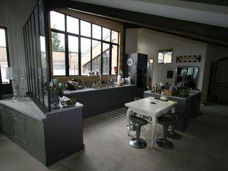 The loft Frédéric TABARY КухняСтільниці Метал Різнокольорові