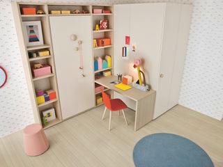 NIDI MOOVING : idee salvaspazio ROOM#4 Nidi Stanza dei bambiniLetti & Culle Bianco