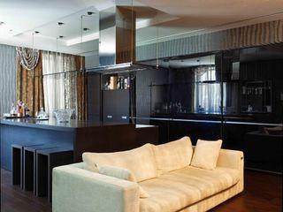 Дом в лесу Хандсвел КухняКухонная мебель Пластик Черный
