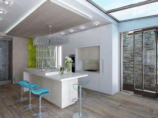 Студия дизайна Натали Хованской Kitchen White