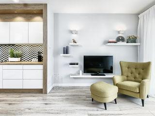 Q2Design Salones de estilo escandinavo