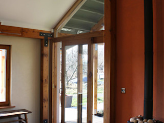 Hemp Cottage Rachel Bevan Architects Salones rurales