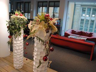 Raumobjekte floral Haedi-Flor Meisterbetrieb Geschäftsräume & Stores Mehrfarbig
