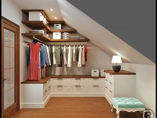 Rash_studio Closets de estilo clásico