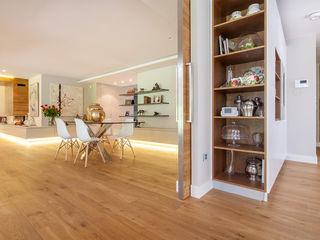 Fotografía de interiores para Tarimas de Autor en Monte Alina Luzestudio - Fotografía de arquitectura e interiores Salones de estilo moderno