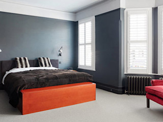 Briarwood Road Granit Architects Modern style bedroom