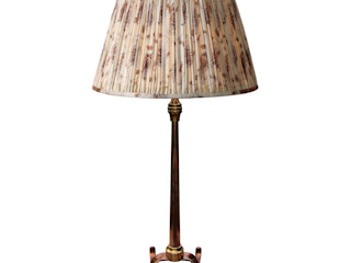 'Arts and Crafts Table Lamp' Perceval Designs Classic style living room Copper/Bronze/Brass