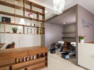LGZ Taller de arquitectura Kantor & Toko Modern Kayu Wood effect