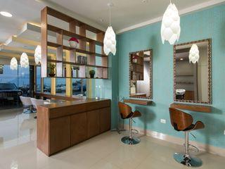 LGZ Taller de arquitectura Kantor & Toko Modern Kertas Turquoise