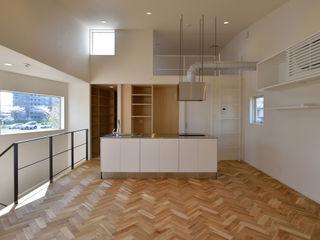 LDK 株式会社ブレッツァ・アーキテクツ ミニマルデザインの キッチン