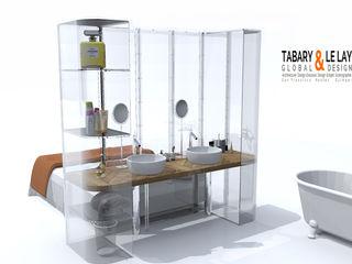 Frédéric TABARY Ванна кімната Пластик Прозорий