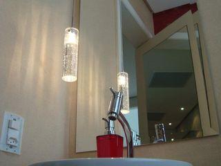 ProArq Brasil Moderne Badezimmer Papier Rot