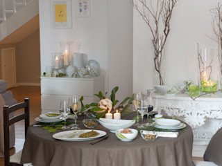 Casa Alegre ダイニングルーム食器&ガラス製品 磁器 緑